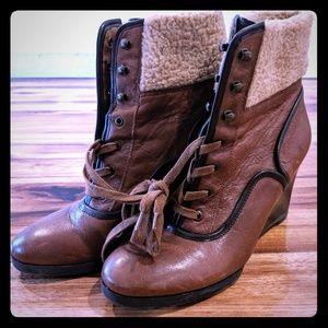 Franco Women's Wedge Bootie